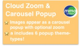 Cloud Zoom & Carousel Popup
