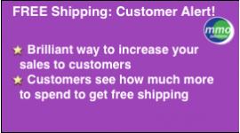 FREE Shipping: Alert Customer!