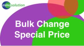 Bulk change  Special price