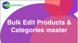 Bulk Edit Products and Categories Master