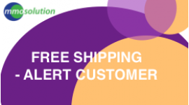 FREE Shipping: Alert Customer!