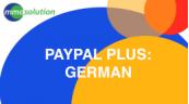 PayPal PLUS  German
