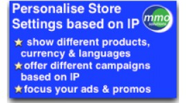 Personalise store by IP location