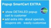 Popup Smart Cart Extra