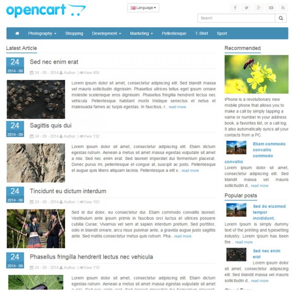 Blog & News OC v1.5.x