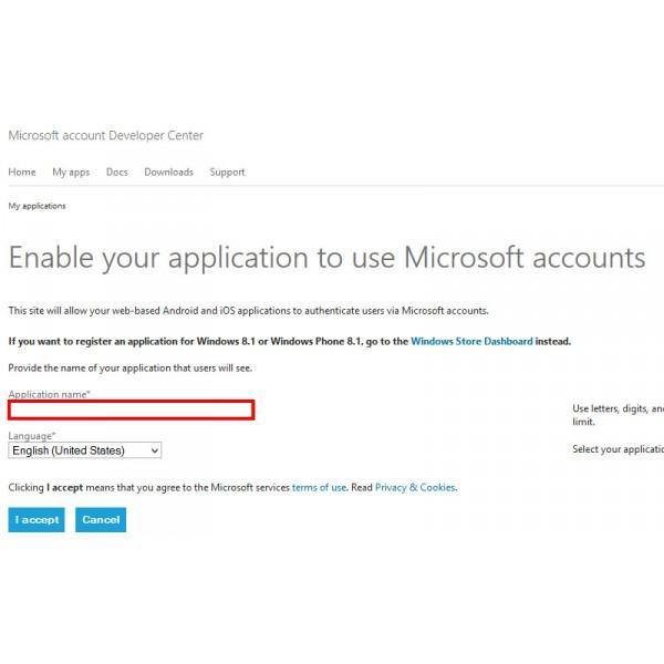 How To Create OAuth Microsoft Live Login Application