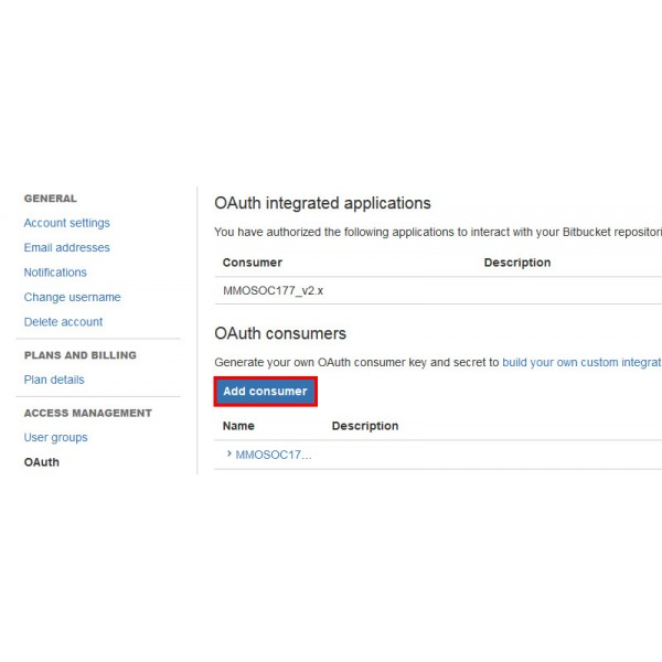 How To Create OAuth Bitbucket Login Application