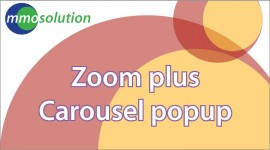 Zoom plus Carousel popup