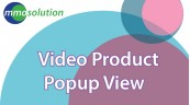 Video Product Popup View