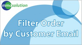 Filter order by customer email
