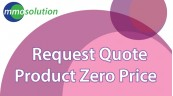 Request Quote when Product Zero Price