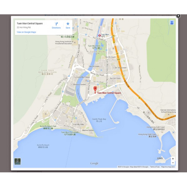 Ultra Contact Page with Map