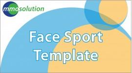 Face Sport Template
