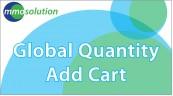 Global Quantity Add Cart