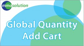 Global Quantity Add Cart