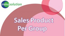 Sales Product Per Group