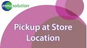 Pickup at Store Location