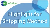 Highlight For Shipping Method