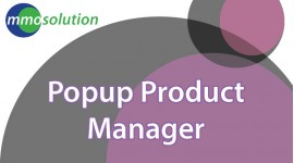 Popup Product Manager