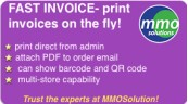 FAST INVOICE support PDF in order email