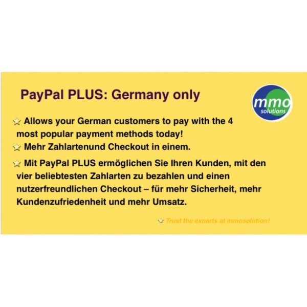 PayPal PLUS  German